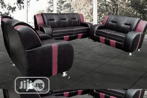 Set of 7-Sitter Sofa Chairs. Leather Couch of 3-2-1 1 Seats | Furniture for sale in Lagos State, Magodo