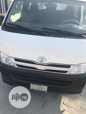 Company Used Toyota Hiace 2013 White For Sale | Buses & Microbuses for sale in Lagos State, Ajah