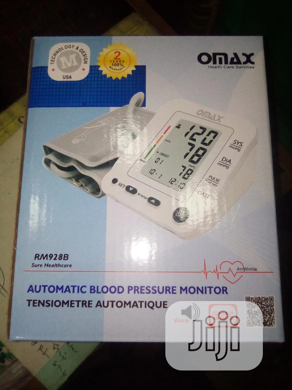 Omax Bp Machine