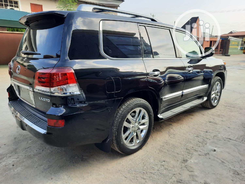 Lexus LX 2013 570 Base Black | Cars for sale in Amuwo-Odofin, Lagos State, Nigeria