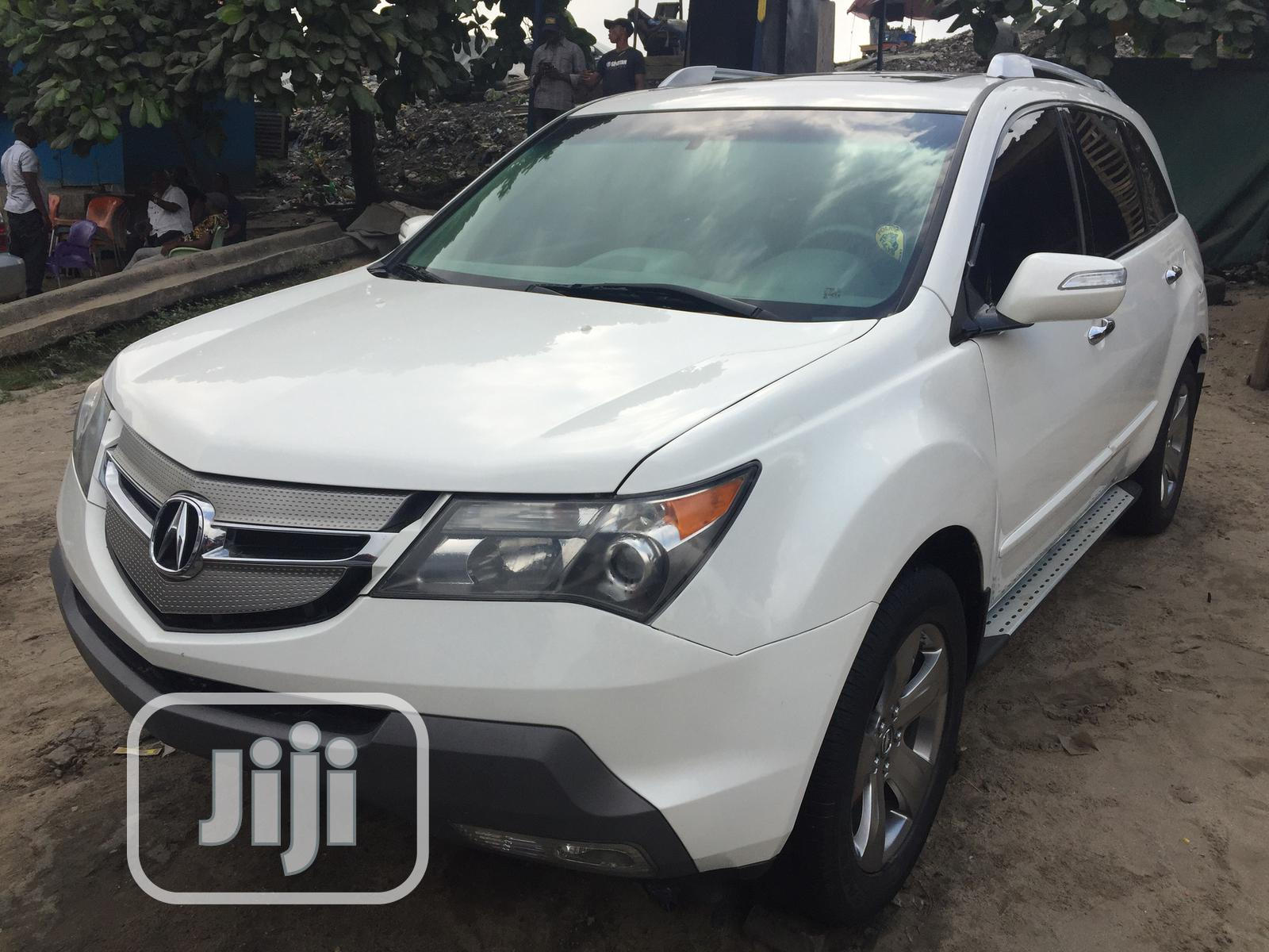 Acura MDX 2008 White | Cars for sale in Apapa, Lagos State, Nigeria