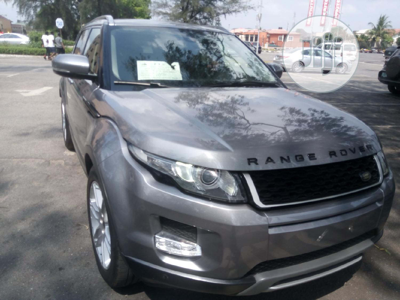 Archive: Land Rover Range Rover Evoque 2014 Gray