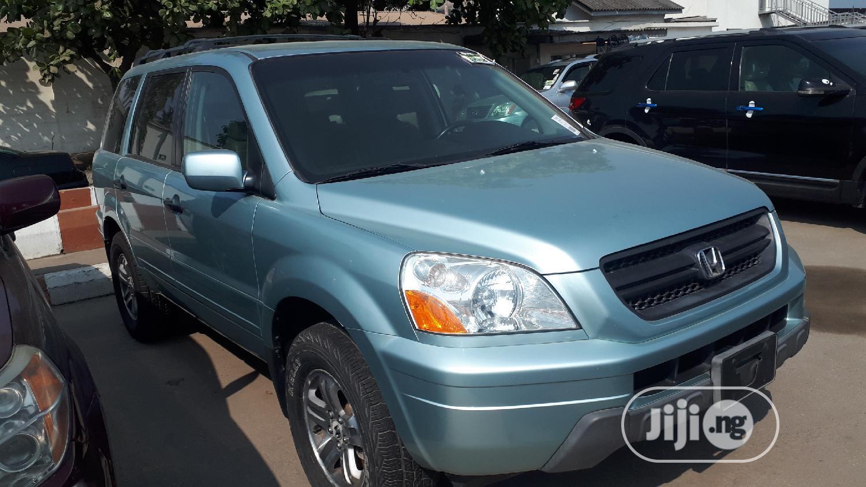 Honda Pilot 2005 Blue | Cars for sale in Apapa, Lagos State, Nigeria