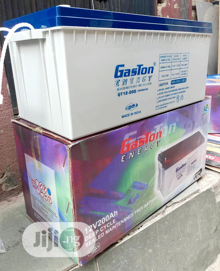 12V 200ah Gaston Energy Battery