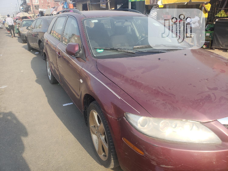 Mazda 626 2004 Red