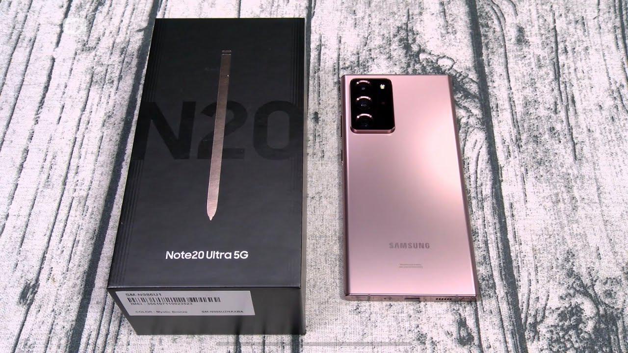 New Samsung Galaxy Note 20 Ultra 256 GB