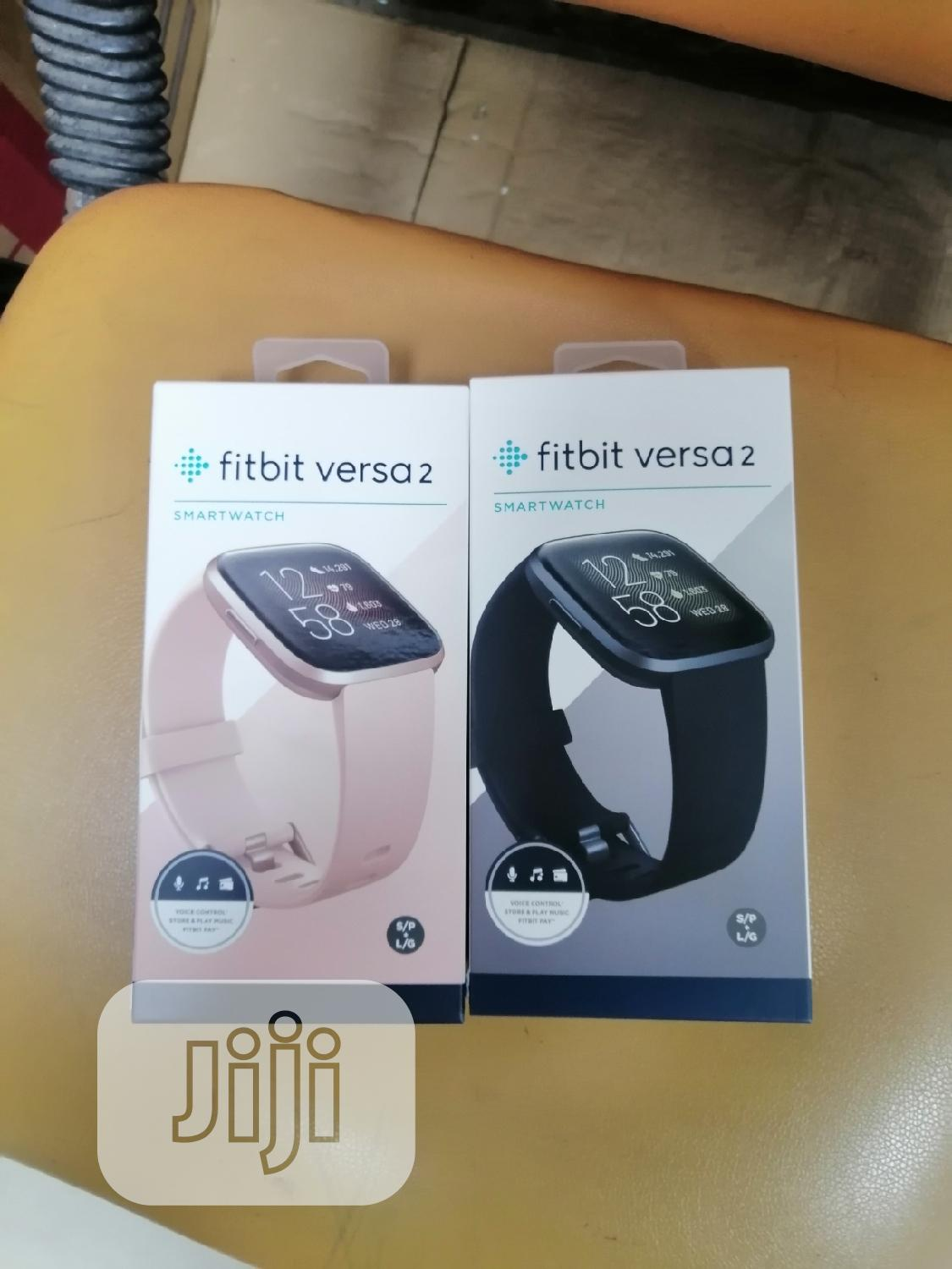 Fitbit Versa 2 | Smart Watches & Trackers for sale in Ikeja, Lagos State, Nigeria