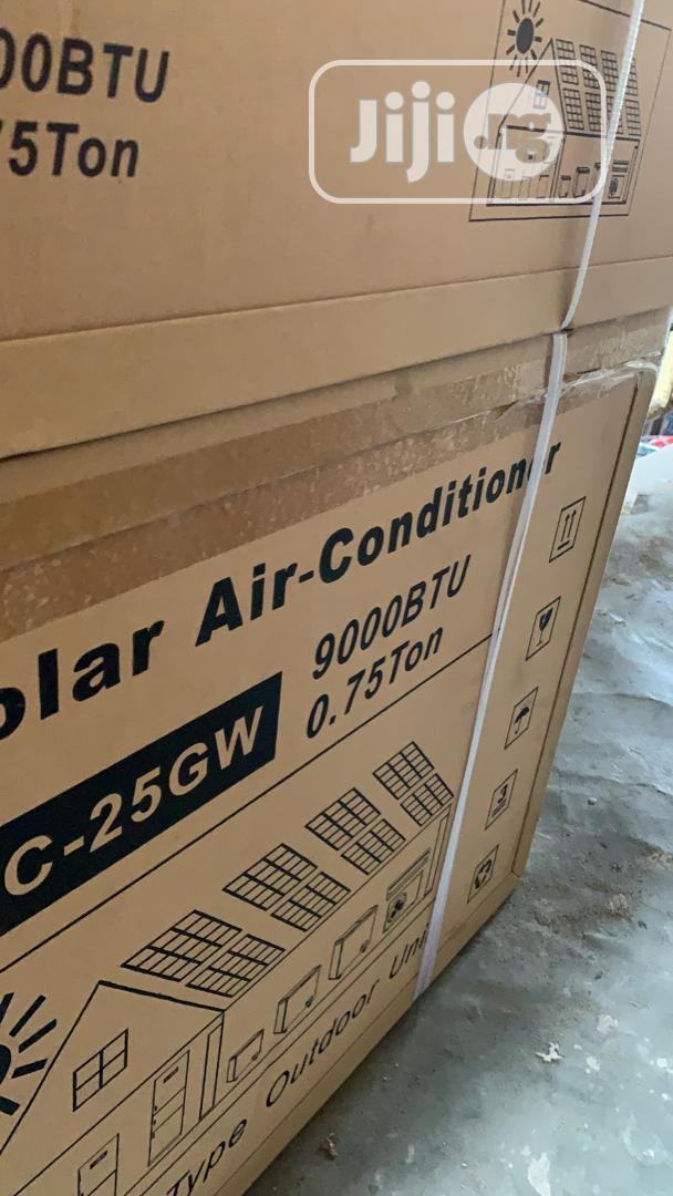 1 Horsepower DC Solar Air Conditioner