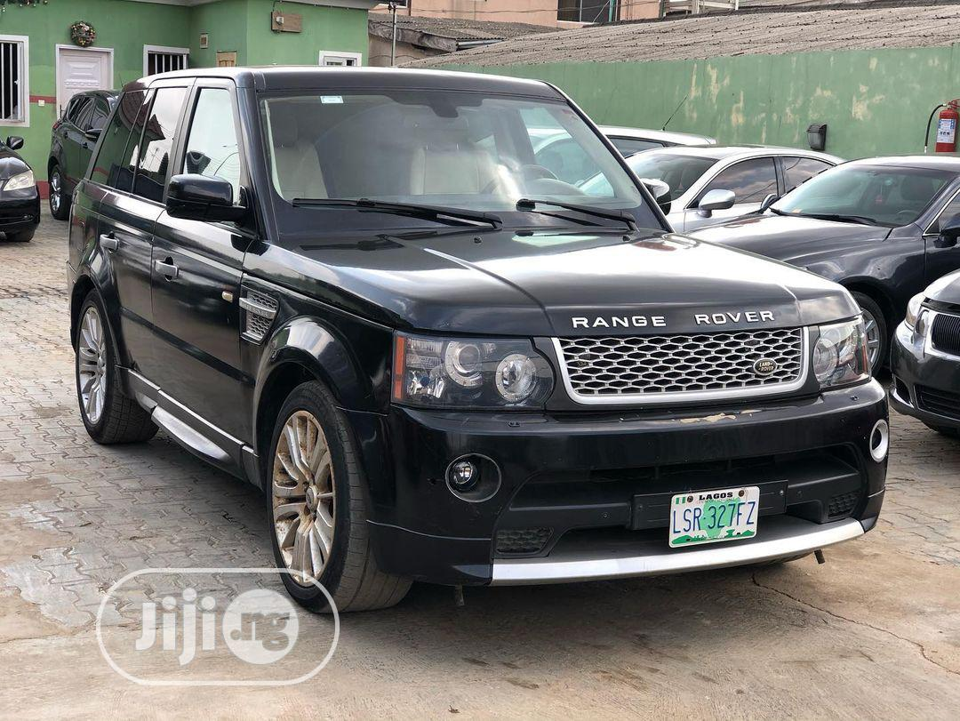 Land Rover Range Rover Sport 2007 Black | Cars for sale in Ikeja, Lagos State, Nigeria