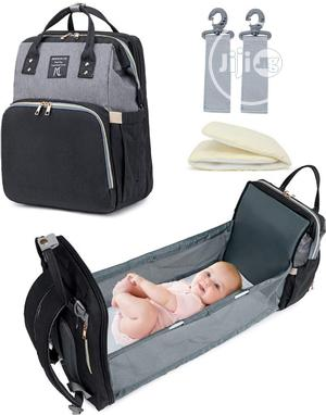 Multifunctional Bag/Backpack Foldable Crib/Diaper Bag | Baby & Child Care for sale in Lagos State, Agege