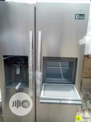 Midea 502L Side by Side Fridge Ice Maker With Dispense | Kitchen Appliances for sale in Lagos State, Ikeja