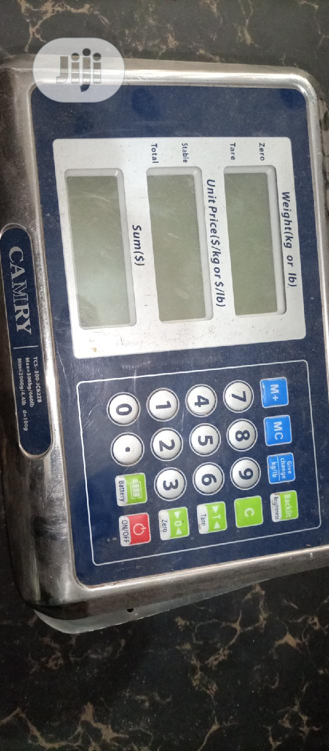 Archive: Digital Scale Camry