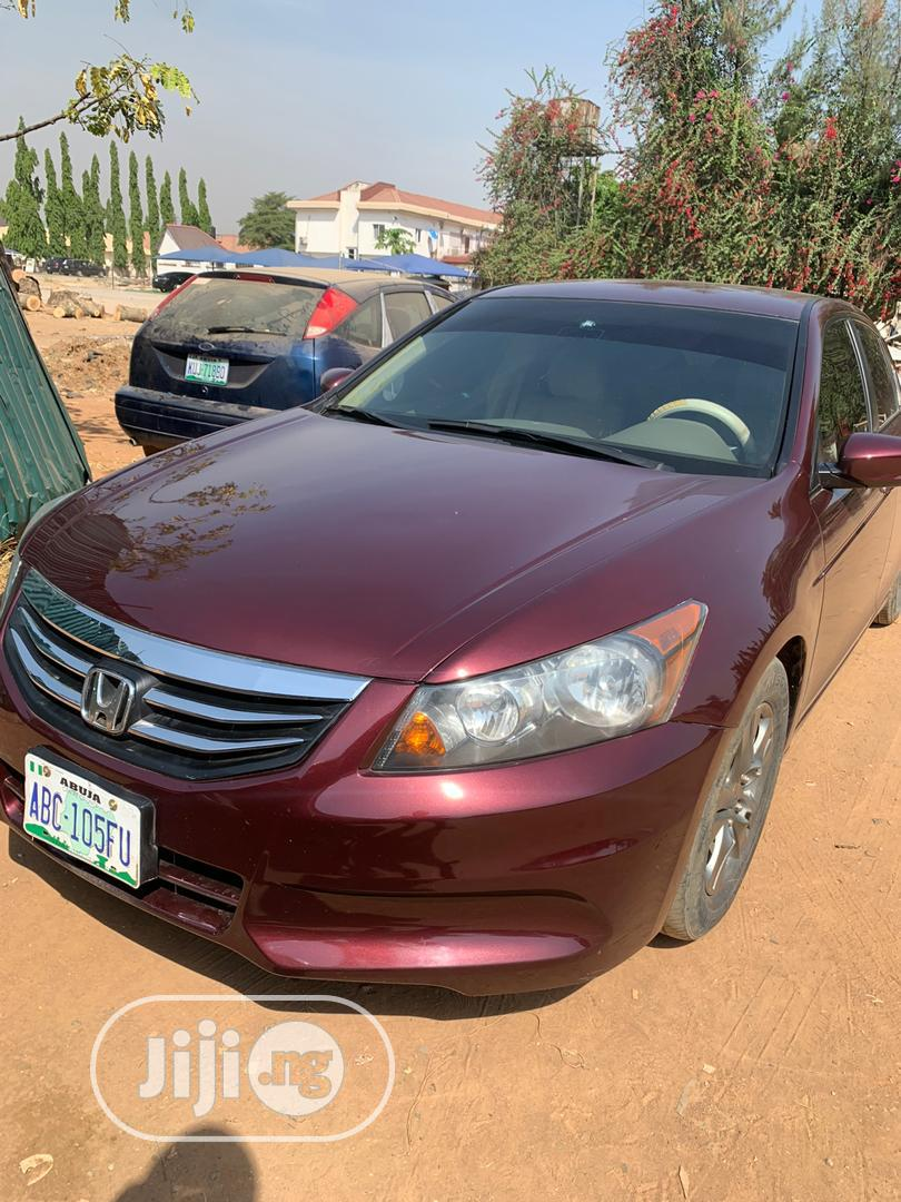 Honda Accord 2008 2.0i-VTEC Executive Red | Cars for sale in Gwarinpa, Abuja (FCT) State, Nigeria