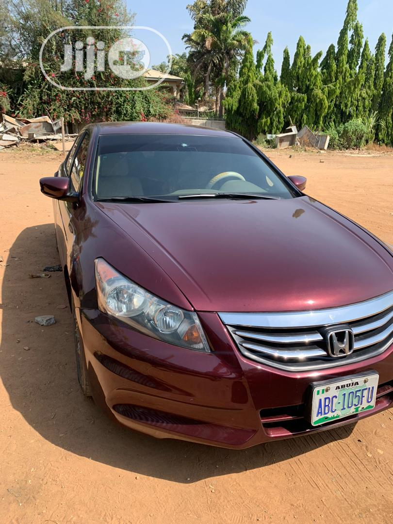 Honda Accord 2008 2.0i-VTEC Executive Red