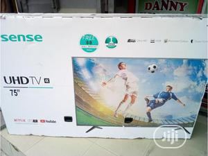 Hisense 4k Smart Tv 75 Inches   TV & DVD Equipment for sale in Lagos State, Ojo