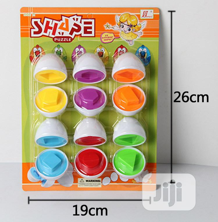 Preschool Montessori Learning Shapes And Colour Matching Egg | Toys for sale in Maryland, Lagos State, Nigeria