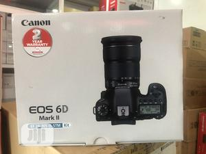 Canon EOS 6D Mark II DSLR Camera With 24-105mm F/4l II Lens | Photo & Video Cameras for sale in Lagos State, Ikeja