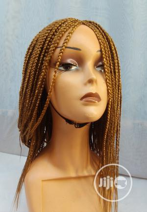 Flawless Box Braids Braided Lace Wig Gold   Hair Beauty for sale in Lagos State, Isolo