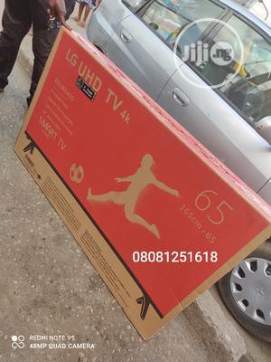 New LG 65''inch UHD 4K Smart (Netflix App Tv Wifi | TV & DVD Equipment for sale in Lagos State, Ikeja
