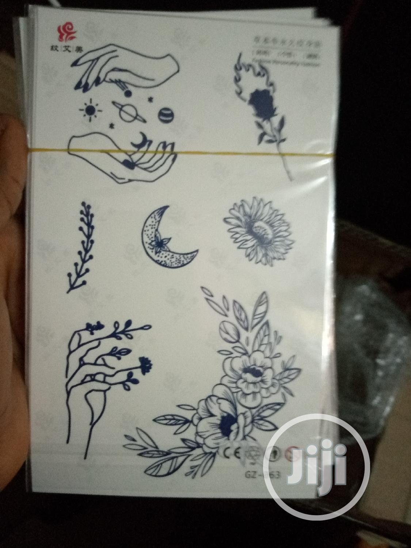 Original Body Tattoo Sticker   Tools & Accessories for sale in Ojo, Lagos State, Nigeria