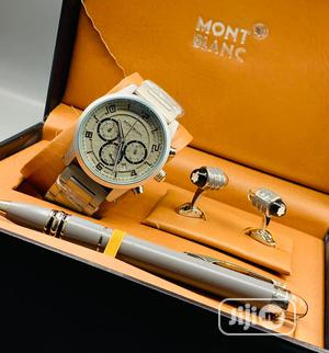 High Quality Montblanc Stainless Steel Watch | Watches for sale in Lagos State, Magodo
