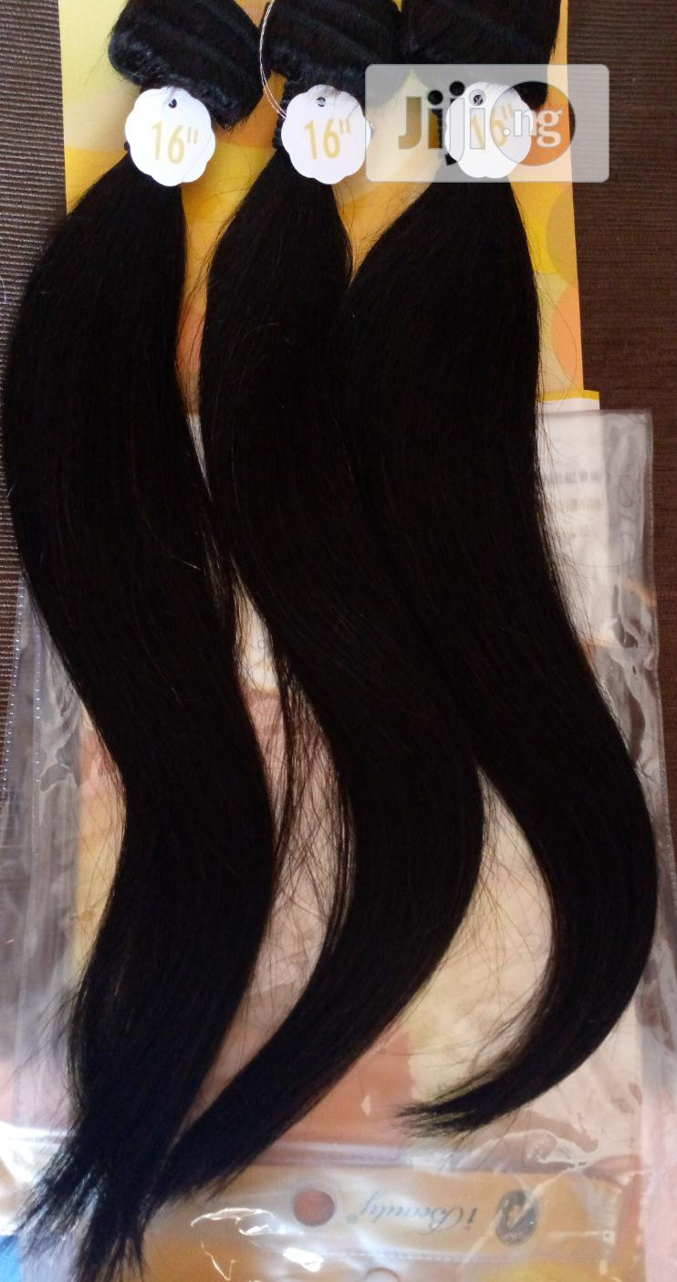 Archive: 16inches Human Hair Skilly Brazilian