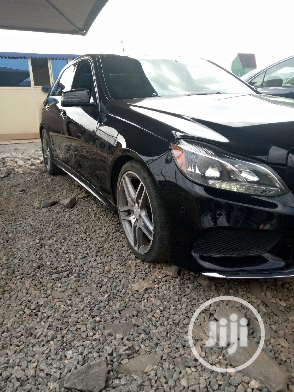 Mercedes-Benz E350 2014 Black | Cars for sale in Ikeja, Lagos State, Nigeria