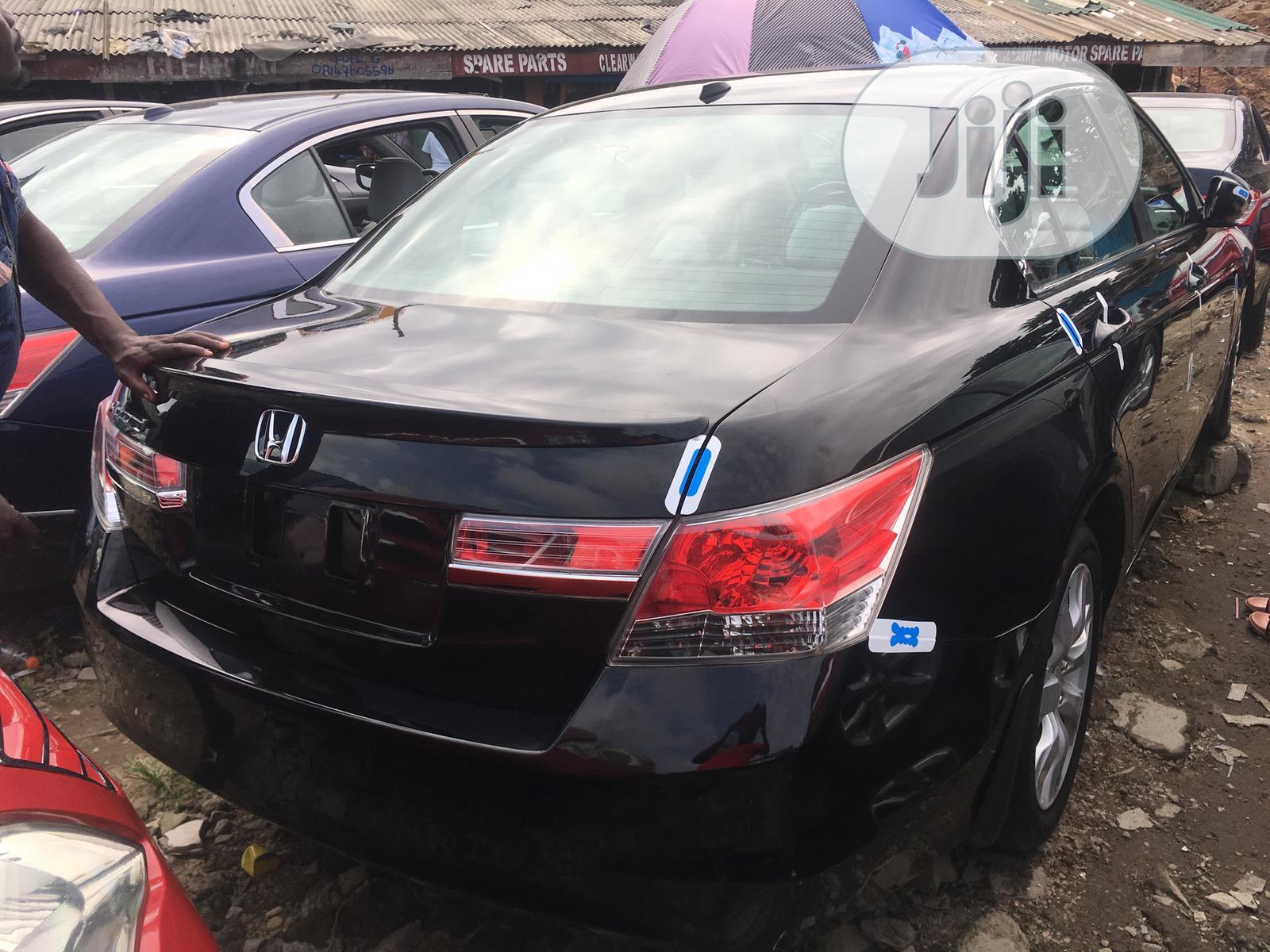 Honda Accord 2010 Sedan EX Automatic Black   Cars for sale in Surulere, Lagos State, Nigeria