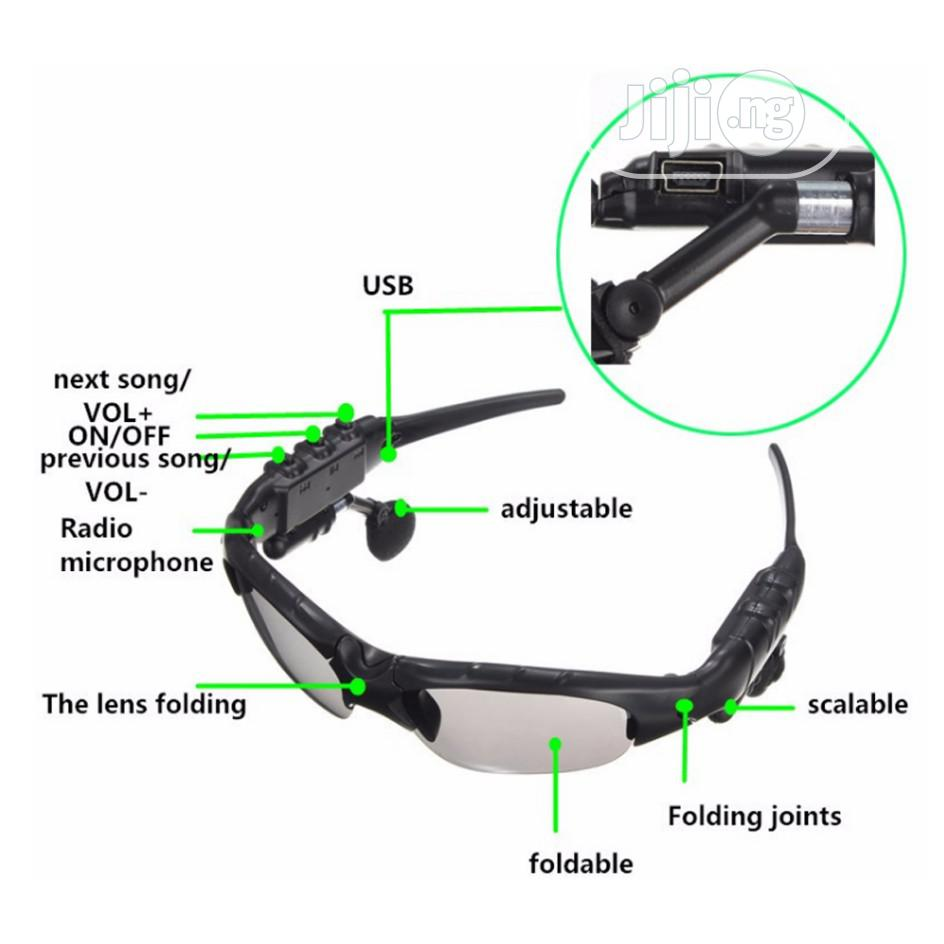 Wireless Headphones Bluetooth 4.1 Smart Stereo Glasses | Accessories for Mobile Phones & Tablets for sale in Ikoyi, Lagos State, Nigeria