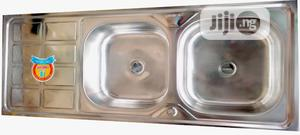 Stainless Sink (Double Bowl) | Restaurant & Catering Equipment for sale in Lagos State, Isolo
