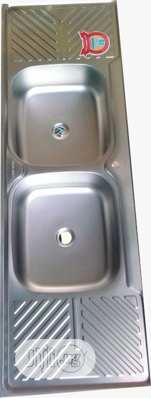 Original Stainless Sink (Double Bowl) | Restaurant & Catering Equipment for sale in Lagos State, Orile