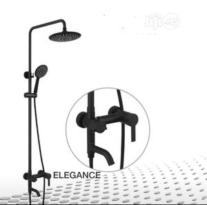 ELEGANCE Quality Black Shower Mixer | Building Materials for sale in Lagos State, Orile