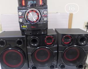 New >Lg X Boom Cj44( 720W) Powerful Sound + Bluetooth Play   Audio & Music Equipment for sale in Lagos State, Ojo