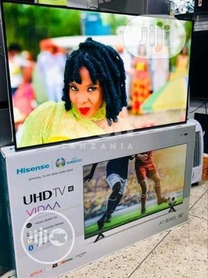 2021 Made Hisense 55''inches 4K UHD Smart Bluetooth (Netflix   TV & DVD Equipment for sale in Lagos State, Ojo