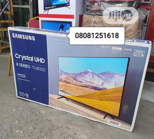 2020 Korea Samsung 55''inch Crystal UHD (TU8000) Smart Tv | TV & DVD Equipment for sale in Lagos State, Ojo