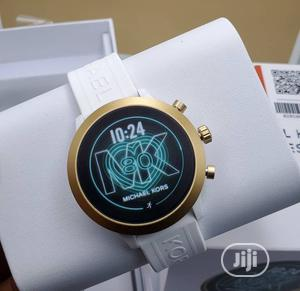 High Quality Michael Kors Digital Rubber Strap Watch | Watches for sale in Lagos State, Magodo