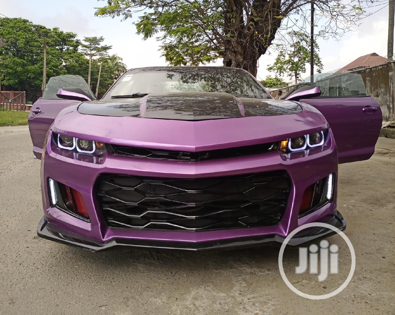 Chevrolet Camaro 2011 2LT Purple