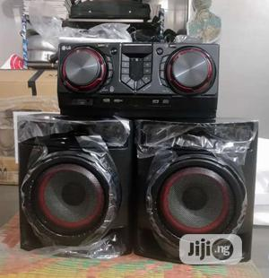 New LG Xboom CJ44(480watts) Powerful Sound Bluetooth 2years | Audio & Music Equipment for sale in Lagos State, Ojo