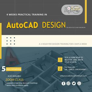 Autocad/Photoshop Online Masterclass | Classes & Courses for sale in Abuja (FCT) State, Kubwa