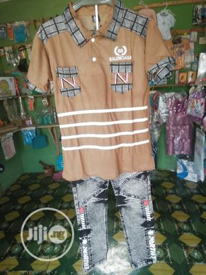 Jeans and Top Fot Boys | Children's Clothing for sale in Lagos State, Lagos Island (Eko)