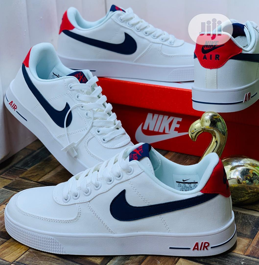 Archive: Nike Air Force 1 - White Blue Color