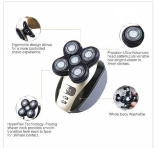 Men's 5-in-1 Electric Shavers Wet Dry Rotary | Tools & Accessories for sale in Lagos State, Yaba