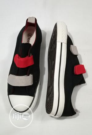 Beautiful Sneakers Black/Red | Children's Shoes for sale in Lagos State, Ikeja