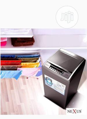 Nexus NX-WM-10ATSL (10kg) Automatic Top Load Washing Machine   Home Appliances for sale in Abuja (FCT) State, Jabi