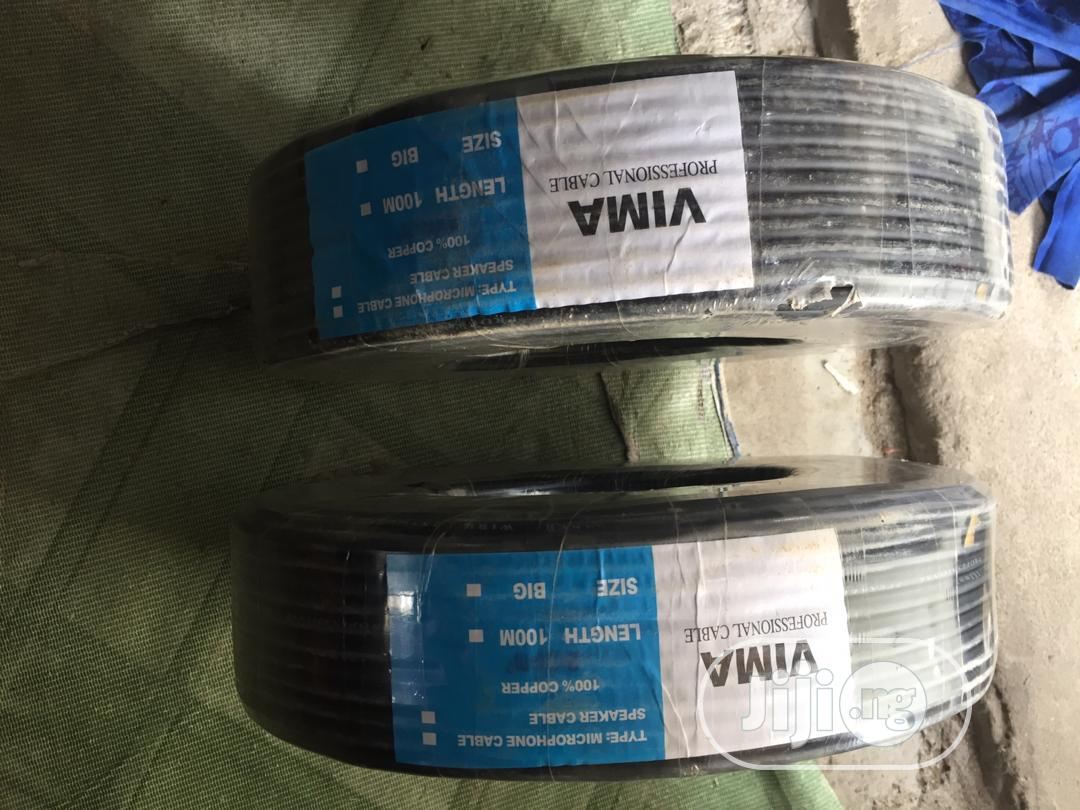 Archive: Vima Speaker And Microphone Cables