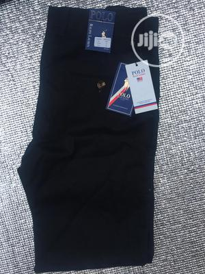 Black Men'S Chinos Trouser .Size 34 | Clothing for sale in Lagos State, Gbagada
