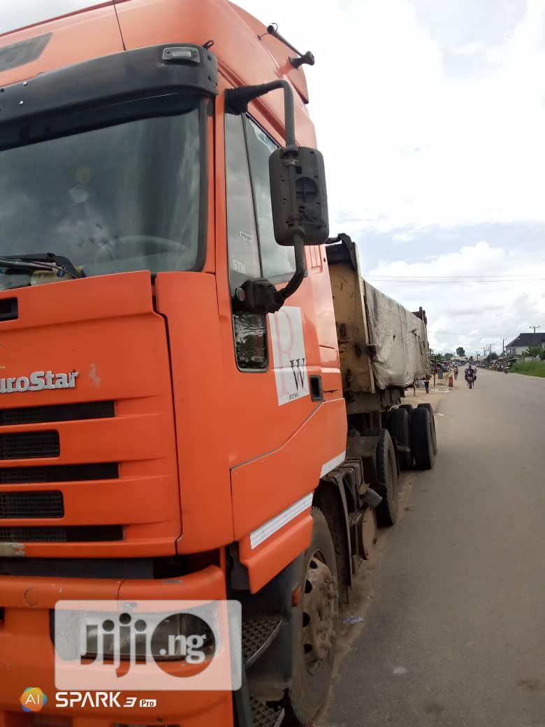 2001 Iveco Tractor Head For Sale | Heavy Equipment for sale in Port-Harcourt, Rivers State, Nigeria