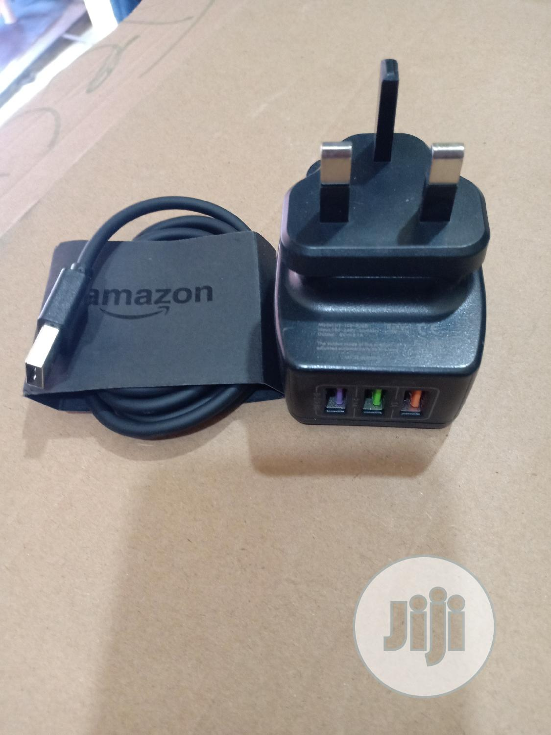 Amazon 3USB Fast Charger