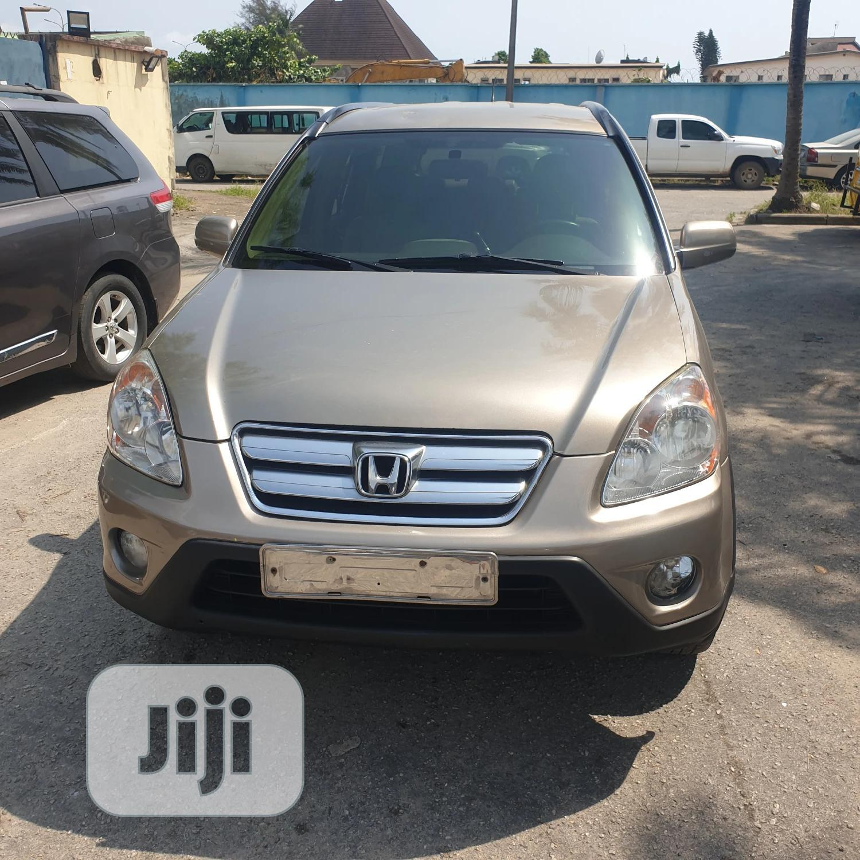 Honda CR-V 2006 EX Automatic Brown | Cars for sale in Amuwo-Odofin, Lagos State, Nigeria