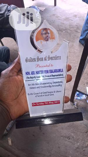 School Handbook, Glass And Wooden Award Plaques. | Arts & Crafts for sale in Lagos State, Surulere